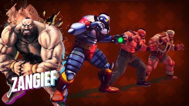 Neue Kostüme für Zangief in Street Fighter 4? Klar, gibt es! Bloß nicht umsonst.