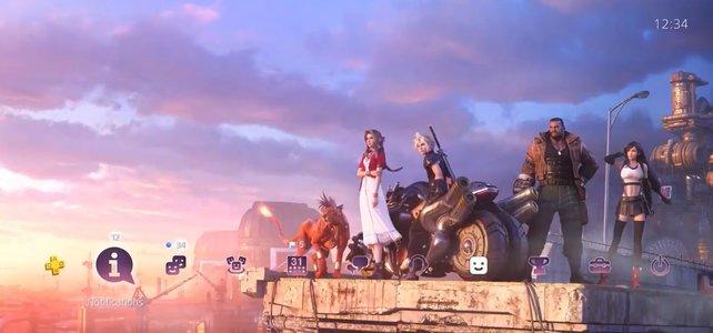 Square Enix bietet euch ein paar schicke PS4-Themes.