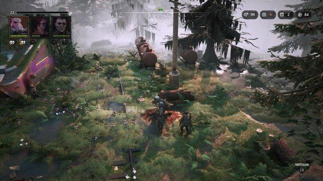 Gerade für ein Indie-Spiel muss sich Mutant Year Zero in Sachen Optik nicht verstecken.