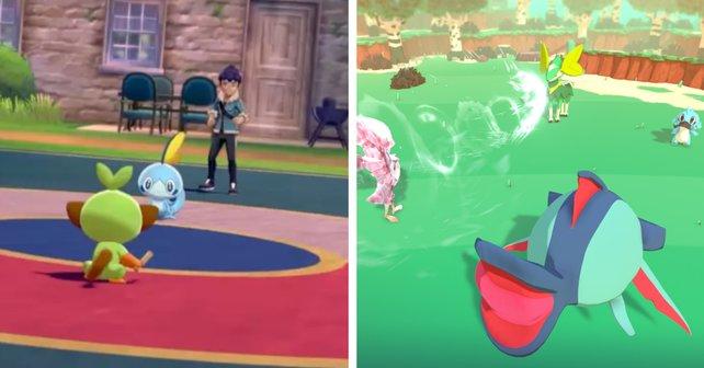 In Pokémon könnt ihr auf viele verschiedene Weisen kämpfen, in Temtem gibt es nur den Doppelkampf.