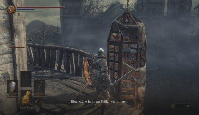 In der Untoten-Siedlung findet ihr Cornyx, den ihr auf der Stelle töten könnt.