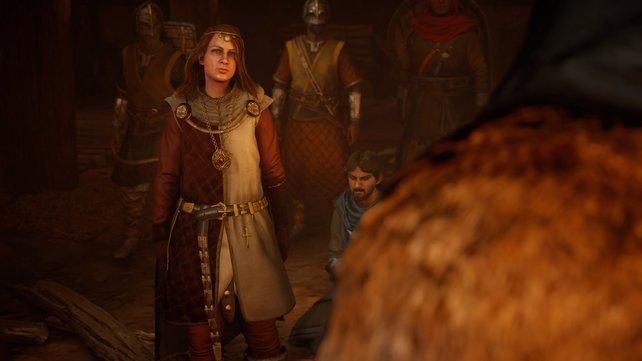 Aktuell präsentiert sich in der Person von Eadwyn ein neues Feindbild, welches sich Sigurd, Basim und Eivor entgegenstellt.