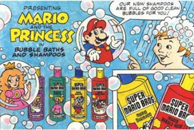 Die Mariosucht der Konsumwelt hat durchaus auch ihre reizvollen Seiten - auch wenn eine schaumig eingeseifte Daisy natürlich noch toller wäre!