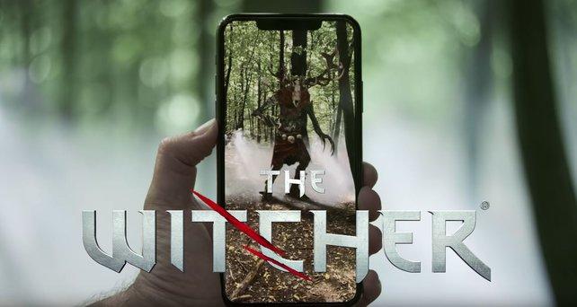 In The Witcher: Monster Slayer werdet ihr zum Hexer.
