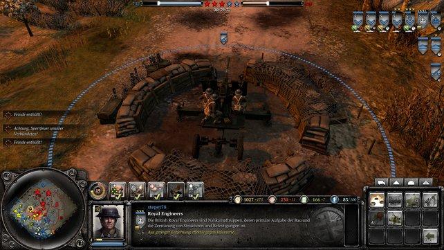 Das Bofors-Geschütz eignet sich hervorragend zur Verteidigung.