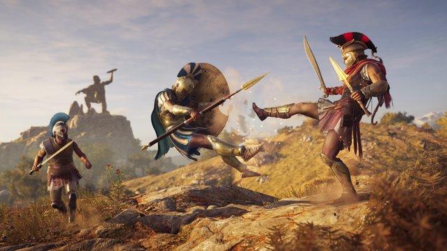 Assassin's Creed: Odyssey ist ebenfalls reduziert
