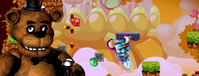 Pixel-Flut statt Sommerflaute: Bei Steam regieren die bunten Punkte.