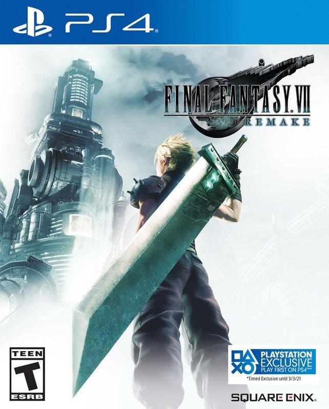 Final Fantasy 7 Remake erscheint zeitexklusiv für PS4.
