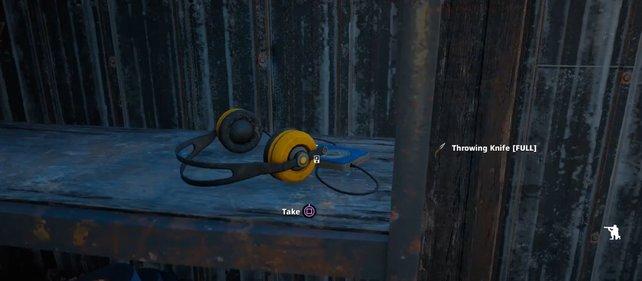 Die MP3-Player aus Far Cry - New Dawn erkennt ihr überwiegend an den großen Kopfhörern.