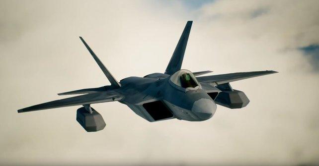 """Wenn ihr den S-Rang erreichen wollt, sollte die F-22A """"Raptor"""" eure erste Wahl sein."""
