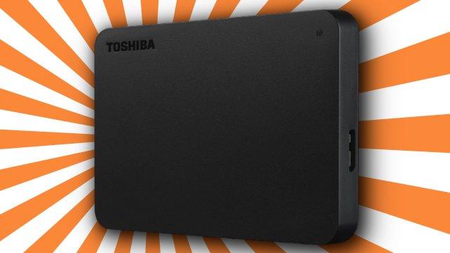 Bei MediaMarkt gibt es gerade eine Toshiba-Festplatte stark reduziert.