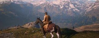"""Red Dead Redemption 2: Spieler betritt offenbar """"gesperrten"""" Bereich"""