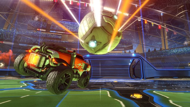 Auf PS Und Xbox Gemeinsam Zocken In Rocket League Technisch Schon - Minecraft ps4 pc zusammen spielen