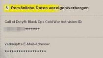 Call of Duty: Black Ops Cold War: Namen ändern oder Activision-ID wechseln