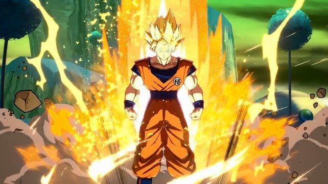 Ein offizielles Bild vom neuen Goku-Charakter gibt es aktuell noch nicht. Deshalb hier Son-Goku als Super Saiyajin.