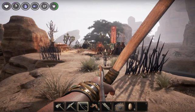 Dieser Stamm besitzt auch viele Kämpfer mit Fernwaffen.