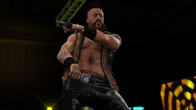 Mit dem Charakter-Editor erstellt ihr Wrestler, die ihren Vorbildern in nichts nachstehen.