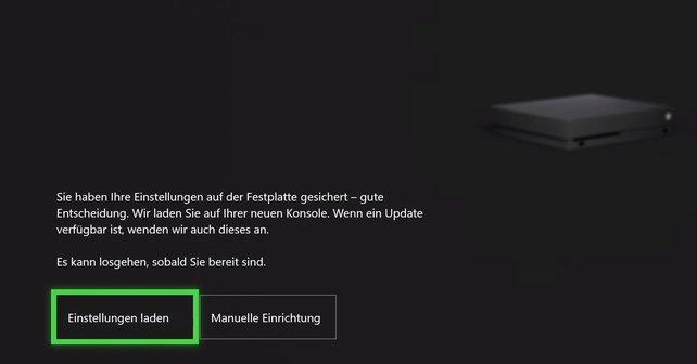 Ihr könnt nicht nur Speicherstände sondern auch Einstellungen auf die Xbox One X übertragen.