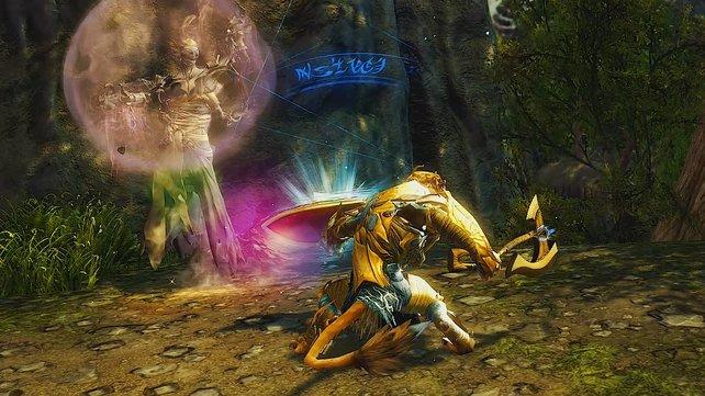 """Legendäre Waffen, wie dieser Schild namens """"Die Flammensucher-Prophezeiungen"""", haben gemeinsam mit den aufgestiegenen Waffen die besten Werte im Spiel und das wird sich nie ändern."""