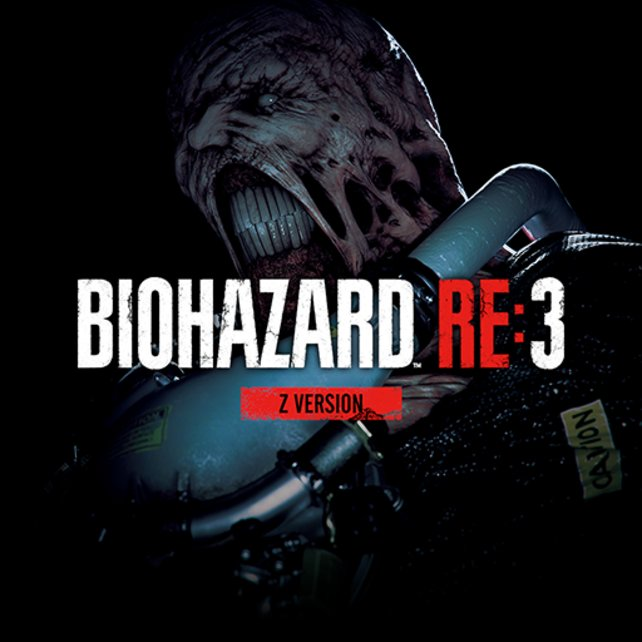 Resident Evil 3 Remake: Das Cover der Z-Version.