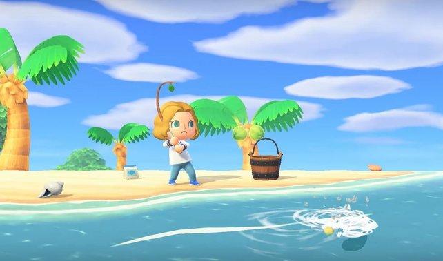 In Animal Crossing ist das Angeln nach Fischen eine der aufregendsten Tätigkeiten.