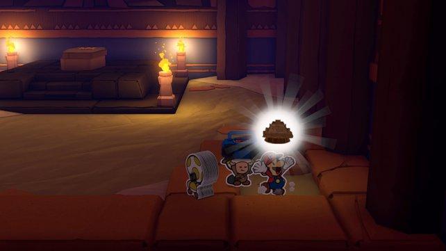 Der zweite und letzte Schatz-Mini im Tempel des Chamses ist sehr gut versteckt.