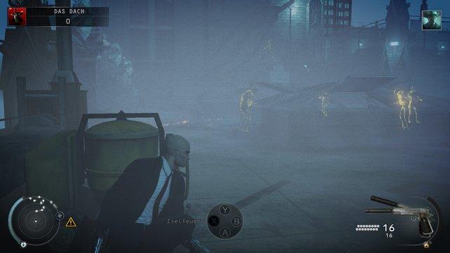 Der Nebel raubt einem die Sicht - aber auch den Gegnern.