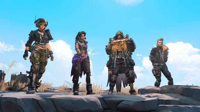 Das sind die vier neuen Kammerjäger aus Borderlands 3.