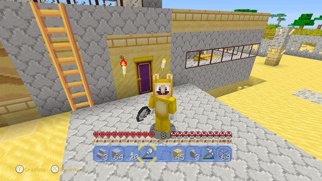 Minecraft Wii U Edition Jetzt Erobert Super Mario Die Klötzchenwelt - Minecraft wii spielen