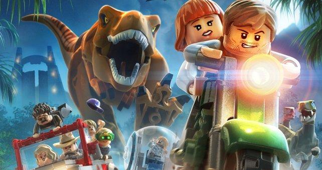 Die Lego-Saurier sind irgendwie knuddelig.