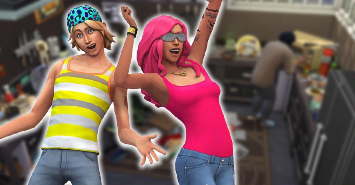 Die Sims 4: Chaos-Haus ist ein wahrer Albtraum - Spieler lieben es