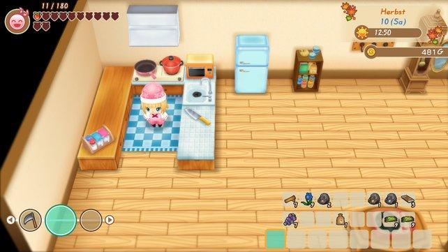 So eine Küche muss gut ausgestattet sein!