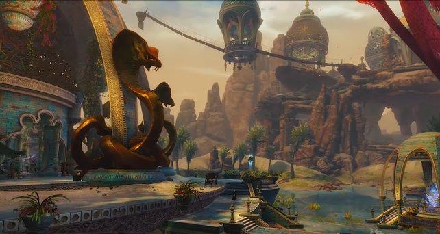 """Die Welt der neuen """"Guild Wars 2""""-Erweiterung erinnert an 1001 Nacht oder die Abenteuer von Aladdin."""