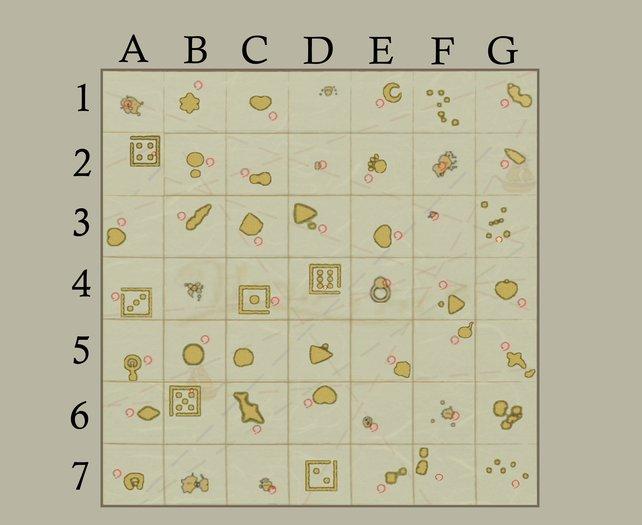 Zelda Wind Waker Karte.Komplette Seekarte Einteilung Und Alle Orte Zelda Wind Waker