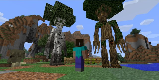 Mit Mods wie der Mo'Creatures Mod könnt ihr neue Monster in eure Spielwelt einführen.