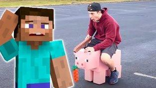 Schwein- ... äh, Minecraft