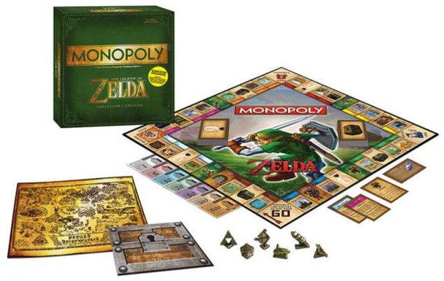 Zelda-Monopoly ist vor allem für Serien-Anhänger ein Blick wert.
