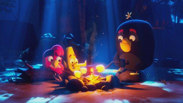 Da sind sie noch jung: In Angry Birds: Summer Madness dreht sich alles erneut um Vögel und Schweine.