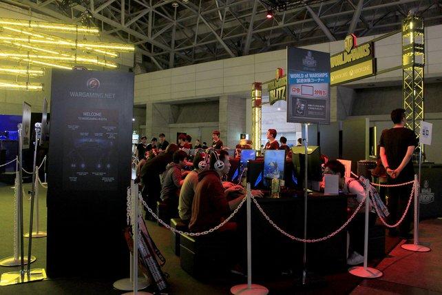 Westliche wie fernöstliche Entwickler buhlen auf der TGS um Online-Spieler.