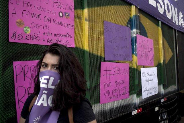 Viele Brasilianer gingen nach diesen Wahlergebnissen auf die Straße, um zu demonstrieren.