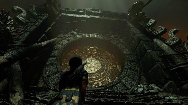 """""""Was muss ich machen?"""" Die Puzzle im neuen Tomb Raider sind teils undurchsichtig."""