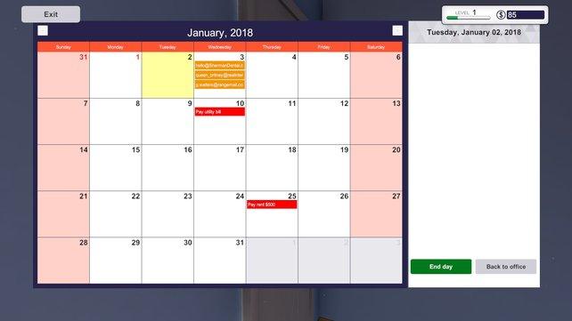 Monatsmiete: Auf eurem Kalender seht ihr jederzeit, wann der Tag der Abrechnung gekommen ist.