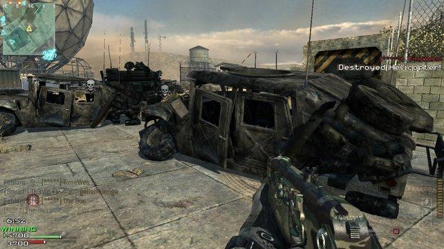 Der Humvee sei laut Vorwürfen des Herstellers ohne Absprache in Call of Duty gelandet.