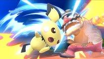 Spieler baut Gadget, um mit seinen Pokémon zu leiden
