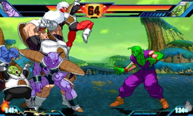 Piccolo stellt sich dem gesamten Ginyu-Sonderkommando.