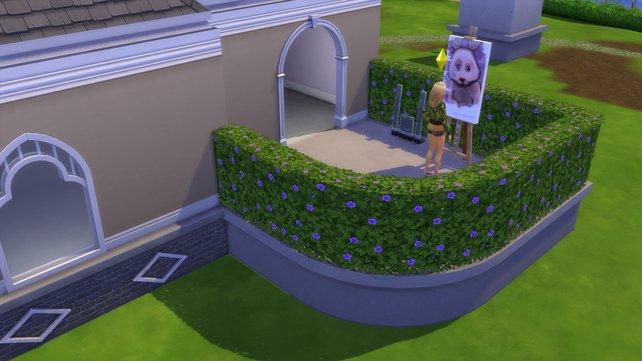 Mit einem Fundament könnt ihr nicht nur euer Haus erhöhen, sondern auch wunderschöne Terrassen bauen.