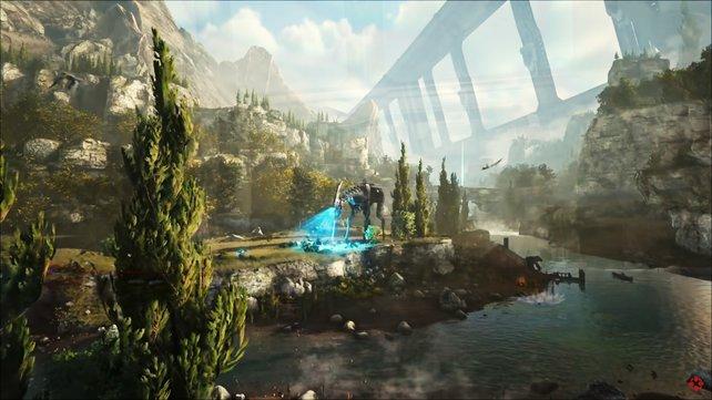 In Ark: Genesis Part 2 gibt es viele neue Kreaturen.