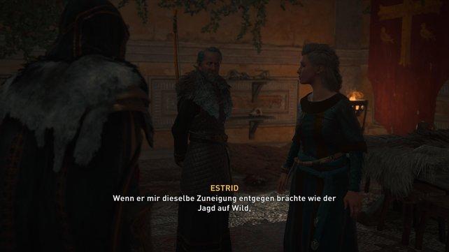 Die Leidenschaft in der Beziehung zwischen Birstan und Estrid ist leider erloschen, weshalb sie sich trennen wollen.