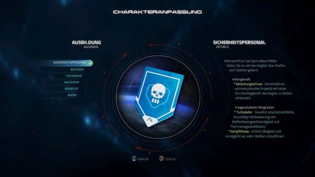 Mass Effect Andromeda - Komplettlösung: Steigt ihr neu in die Reihe ein, solltet ihr euch überlegen, ob ihr euch mit den Kräften im Laufe des Spiels vertraut macht.