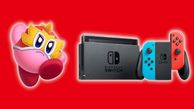 Nintendo veröffentlicht neues Kirby-Spiel für die Switch.